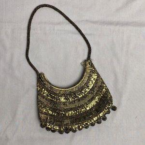 Vintage Beaded Sequin Mini Bag